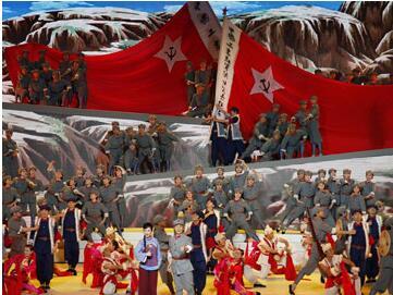 延安革命圣地—革命历史